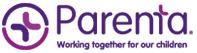 Parenta logo png white background